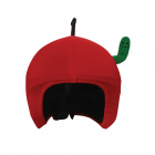 S039 Apple with Worm нашлемник