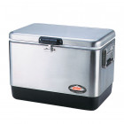 Контейнер изотерм. 54 Quart Coleman® Stainless Steel Cooler